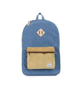Herschel Supply Herschel Supply Heritage Backpack - Crosshatch Navy / Straw Cord