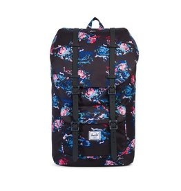 Herschel Supply Herschel Supply Little America Mid Volume Backpack - Floral Blur / Black Rubber