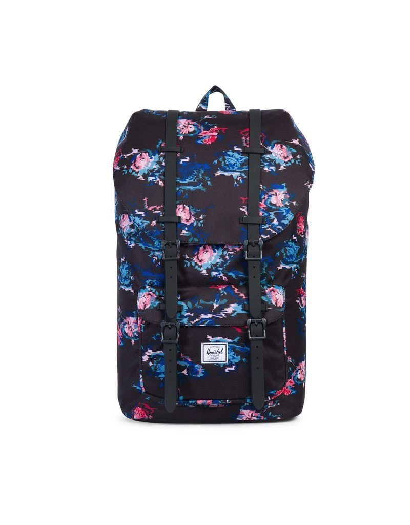 Herschel Supply Herschel Supply Little America Mid Volume Backpack - Floral Blur / Black Rubber