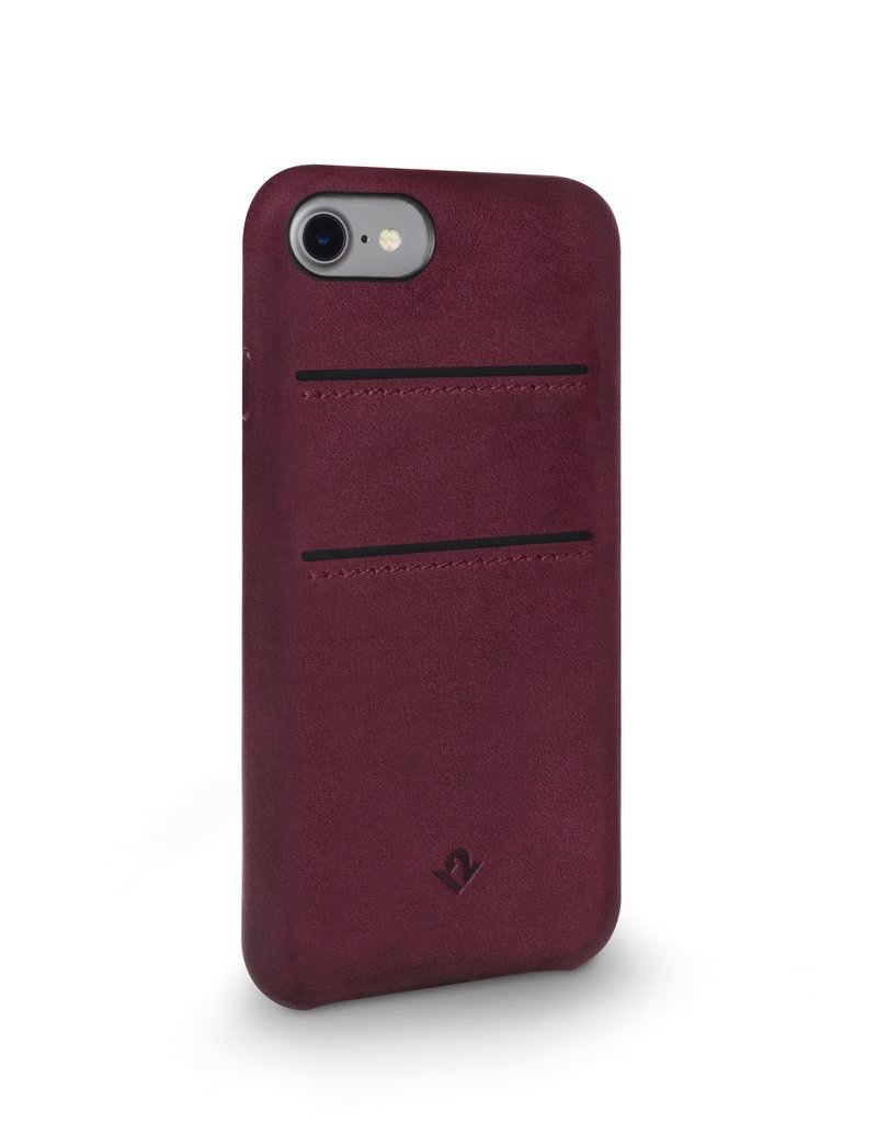Twelve South Twelve South Relaxed Leather Case with Pockets for iPhone 6/6s/7 - Marsala