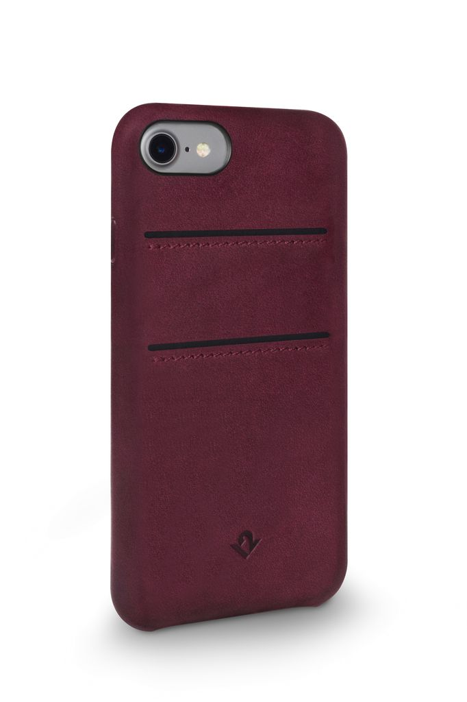 Twelve South Twelve South Relaxed Leather Case with Pockets for iPhone 8/7/6 - Marsala