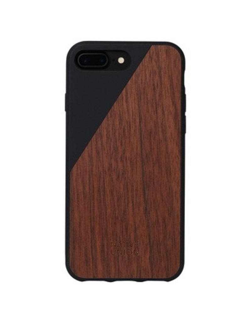 Native Union Native Union Clic Wooden Case for iPhone 7 Plus - Black