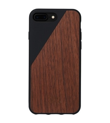Native Union Native Union Clic Wooden Case for iPhone 8/7 Plus - Black