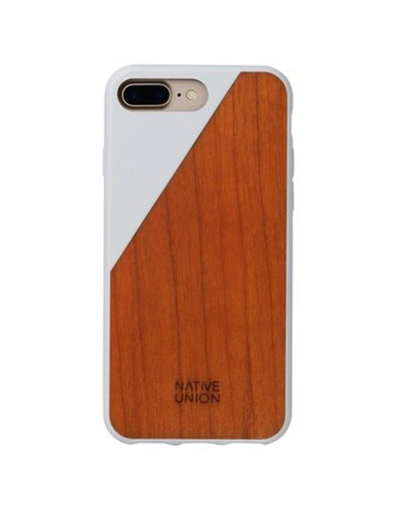 Native Union Native Union Clic Wooden Case for iPhone 7 Plus - White