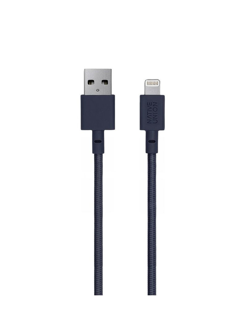 Native Union Native Union 1.2M Belt Lightning Cable - Marine