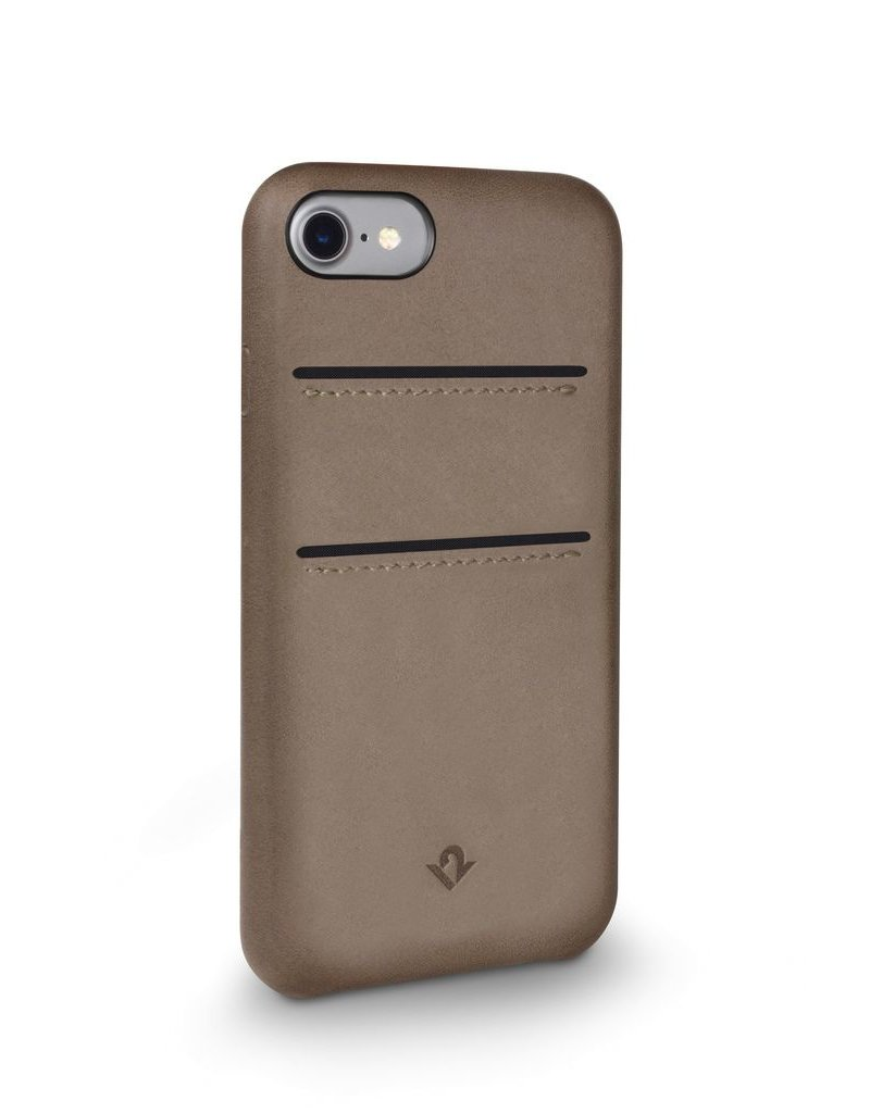 Twelve South Twelve South Relaxed Leather Case with Pockets for iPhone 6/6s/7 - Warm Taupe