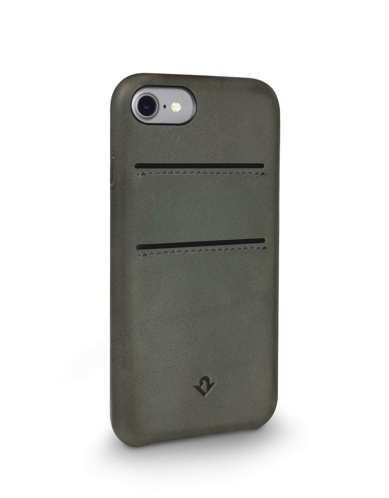 Twelve South Twelve South Relaxed Leather Case with Pockets for iPhone 6/6s/7 Plus - Dried Herb