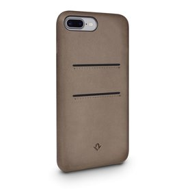 Twelve South Twelve South Relaxed Leather Case with Pockets for iPhone 6/6s/7 Plus - Warm Taupe