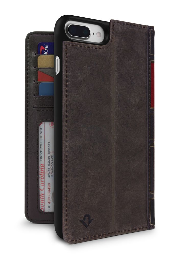 Twelve South Twelve South BookBook for iPhone 8/7/6 Plus - Brown
