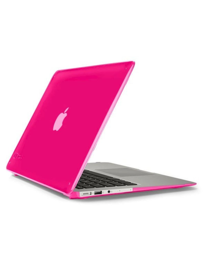 Speck Speck See Thru Satin for Macbook Air 13 - Hot Lips Pink