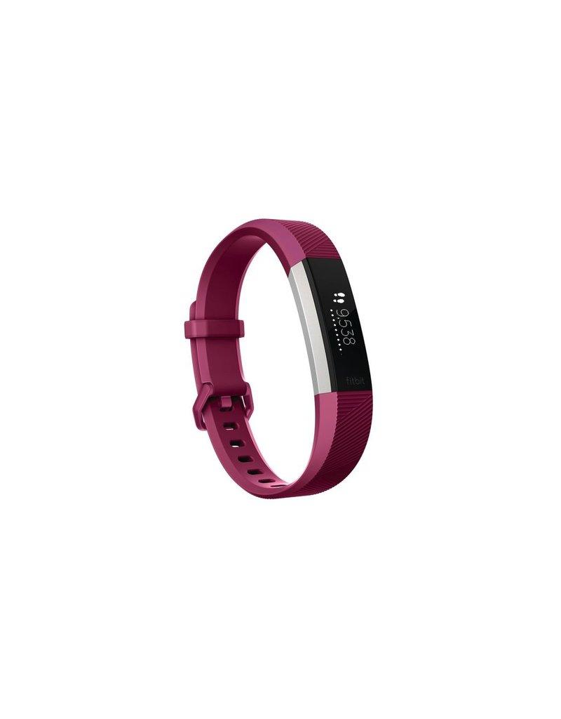 FitBit Alta HR Fitness Wristband - Large Fushcia