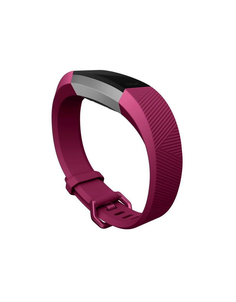 FitBit FitBit Alta HR Fitness Wristband - Large Fushcia