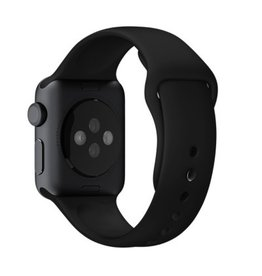 Apple Apple Watch 38mm Black Sport Band with Space Grey Pin