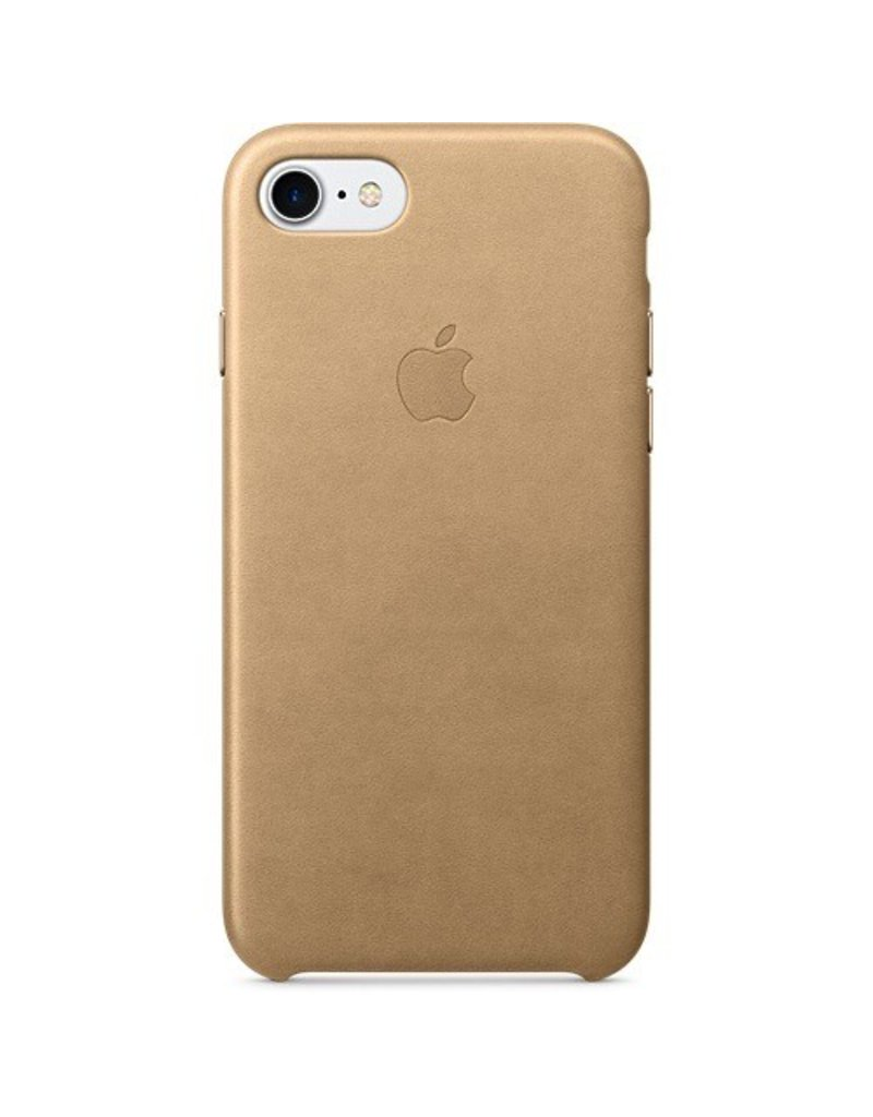 Apple Apple iPhone 7 Leather Case - Tan