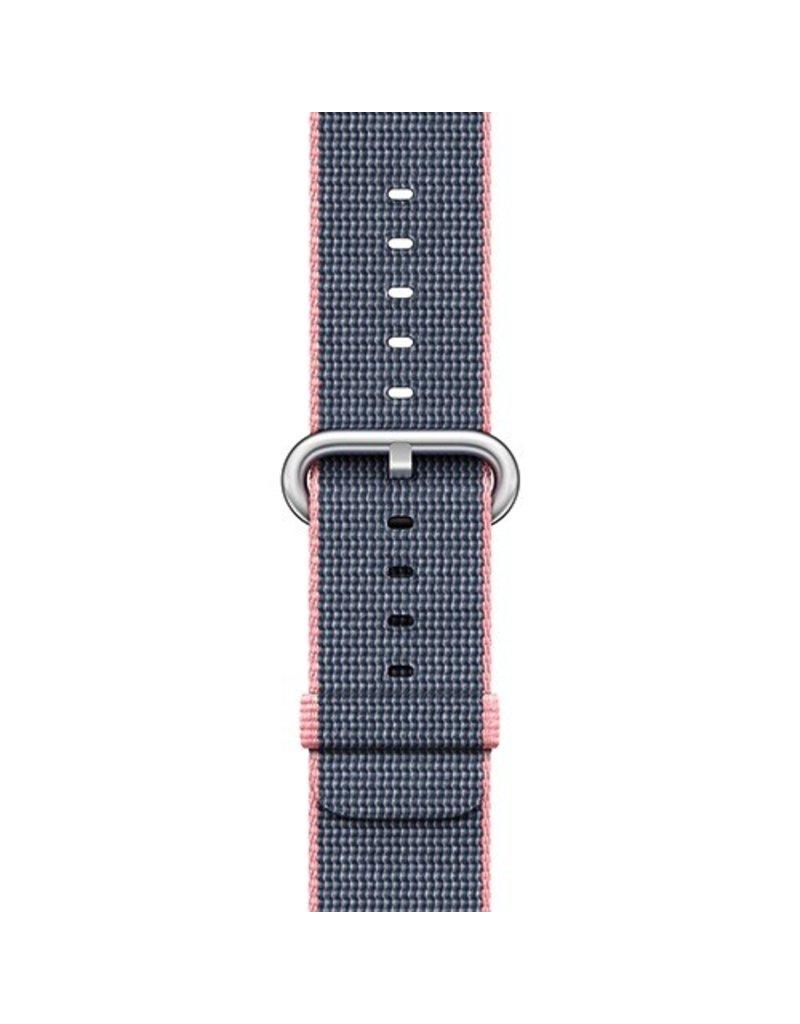 Apple Apple Watch 42mm Light Pink / Midnight Blue Woven Nylon Band