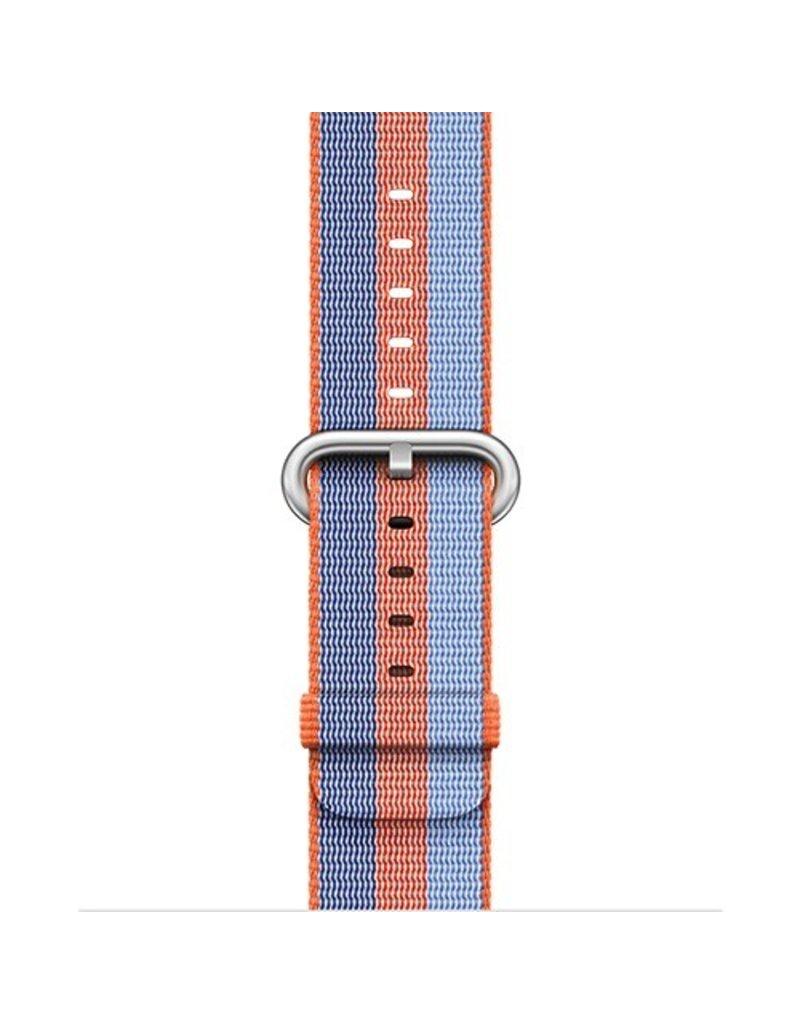 Apple Apple Watch 42mm Orange Woven Nylon Band