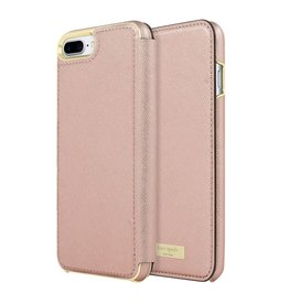 kate spade new york kate spade Folio Case for iPhone 6/6s/7 Plus - Saffiano Rose Gold