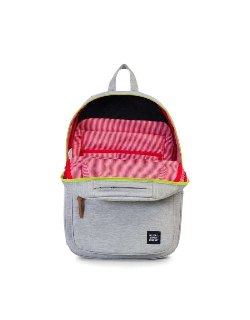 Herschel Supply Herschel Supply Harrison Backpack - Light Grey / Lime