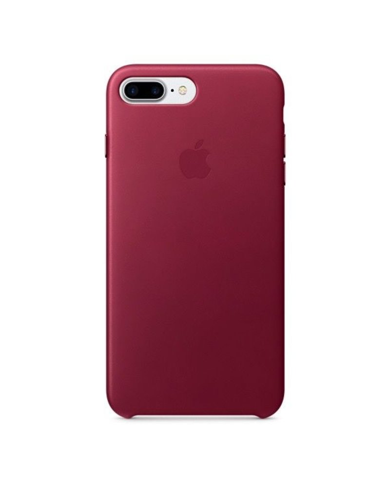 Apple Apple iPhone 7 Plus Leather Case - Berry
