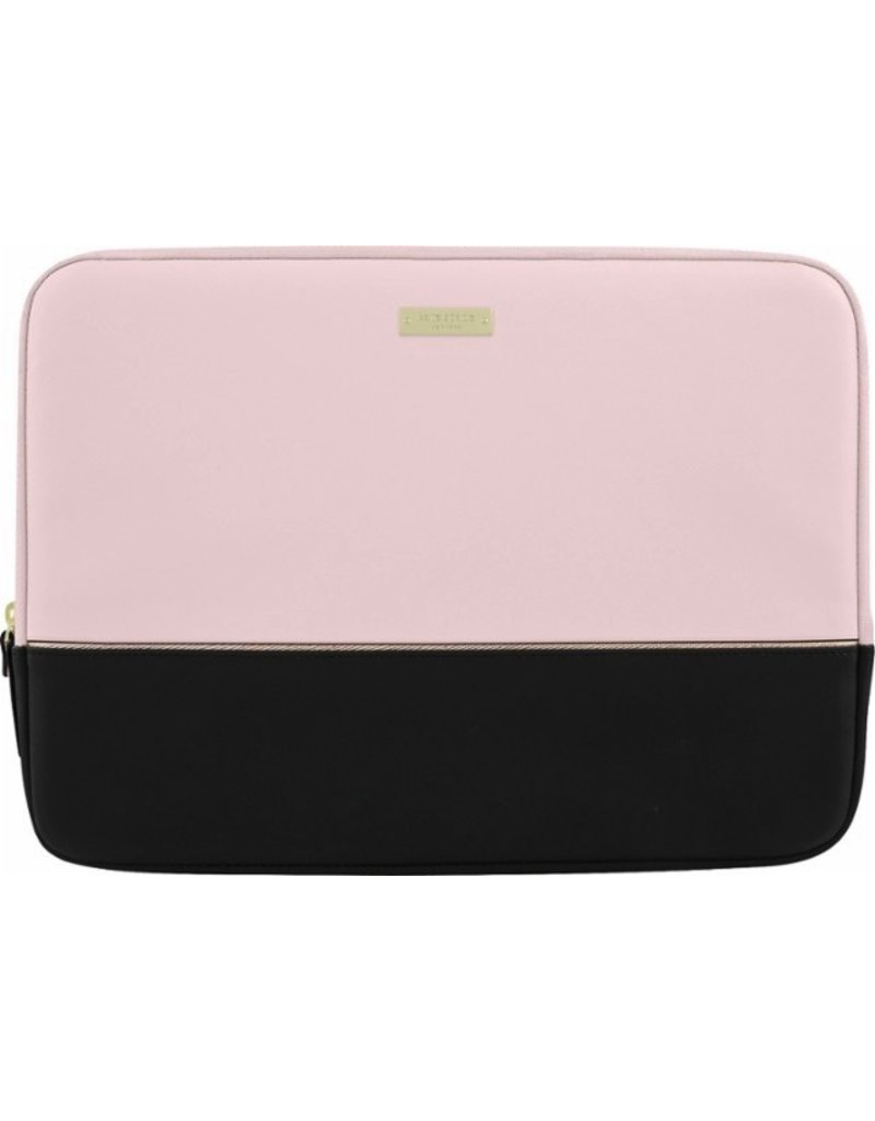 "kate spade new york kate spade Sleeve for 13"" Macbook - Black / Rose Quartz / Rose Gold"