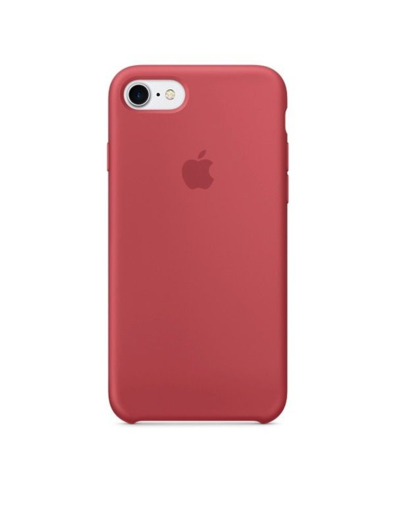 Apple Apple iPhone 7 Silicone Case - Camelia