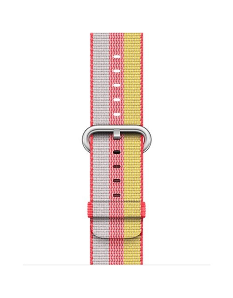 Apple Apple Watch 38mm Red Woven Nylon Band