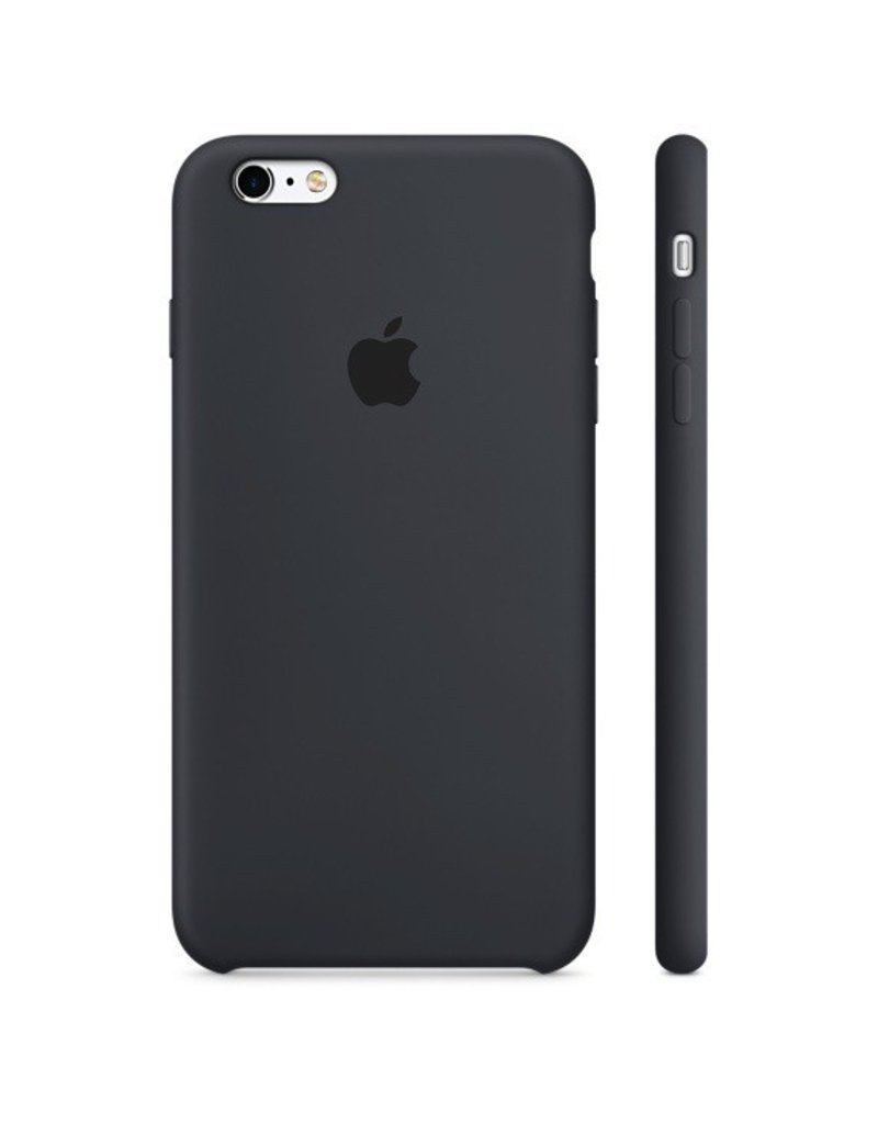 Apple Apple iPhone 6 Plus Silicone Case - Charcoal Gray