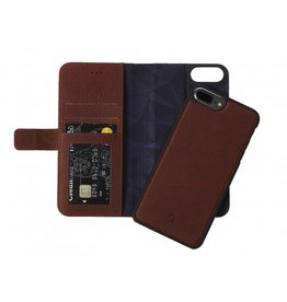 Decoded Decoded 2-in-1 Wallet Case for iPhone 6/6s/7 Plus- Cinnamon Brown