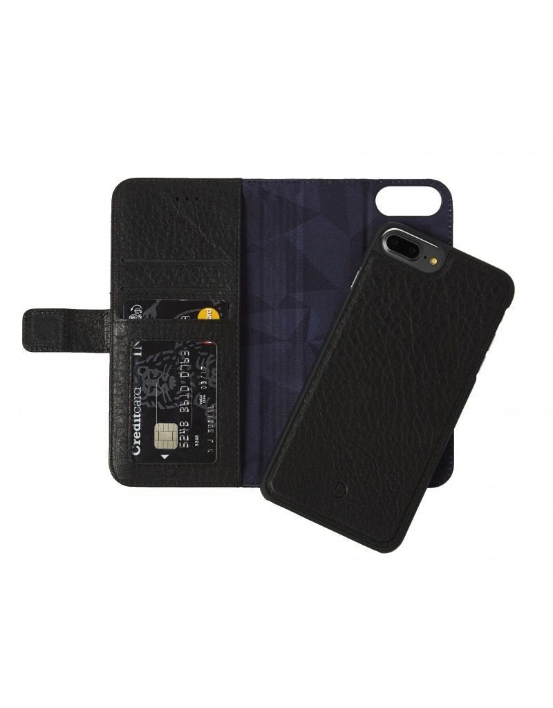 Decoded 2-in-1 Wallet Case for iPhone 6/6s/7 Plus- Black