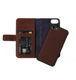 Decoded Decoded 2-in-1 Wallet Case for iPhone 6/6s/7 - Cinnamon Brown