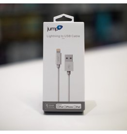 Jump Jump+ USB to Lightning Cable 3m -White