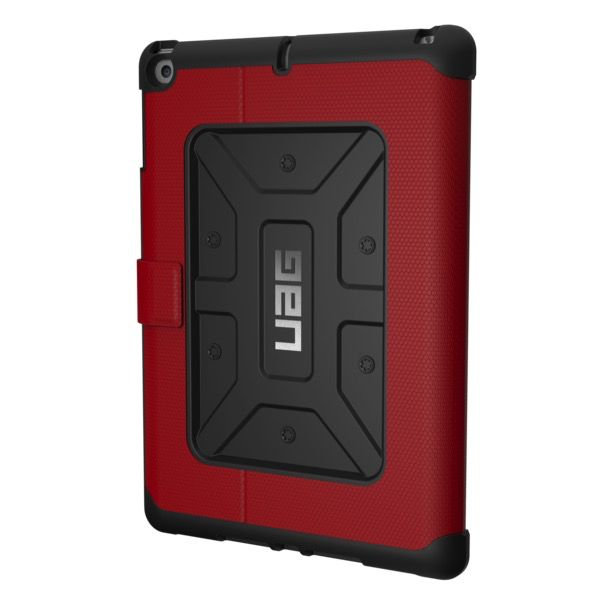 UAG Metropolis Case for iPad (2017) - Red / Black