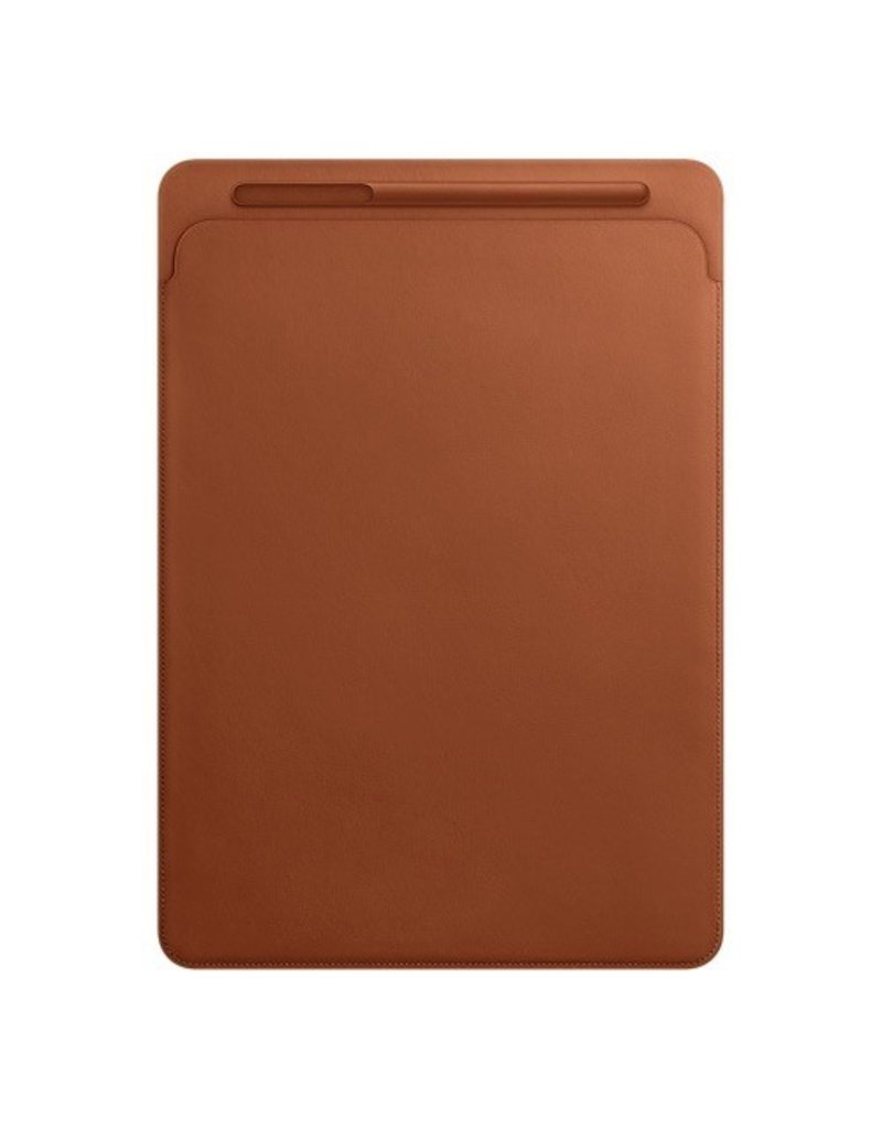 Apple Leather Sleeve for 12.9-inch iPad Pro - Saddle Brown