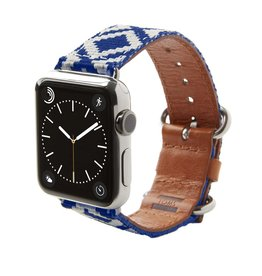 TOMS TOMS Apple Watch 38mm Artisan Band - Royal Blue Diamond