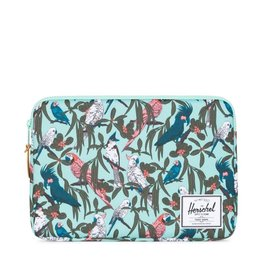 Herschel Supply Herschel Supply Anchor Computer sleeve 13 Inch - Lucite Green Parlour