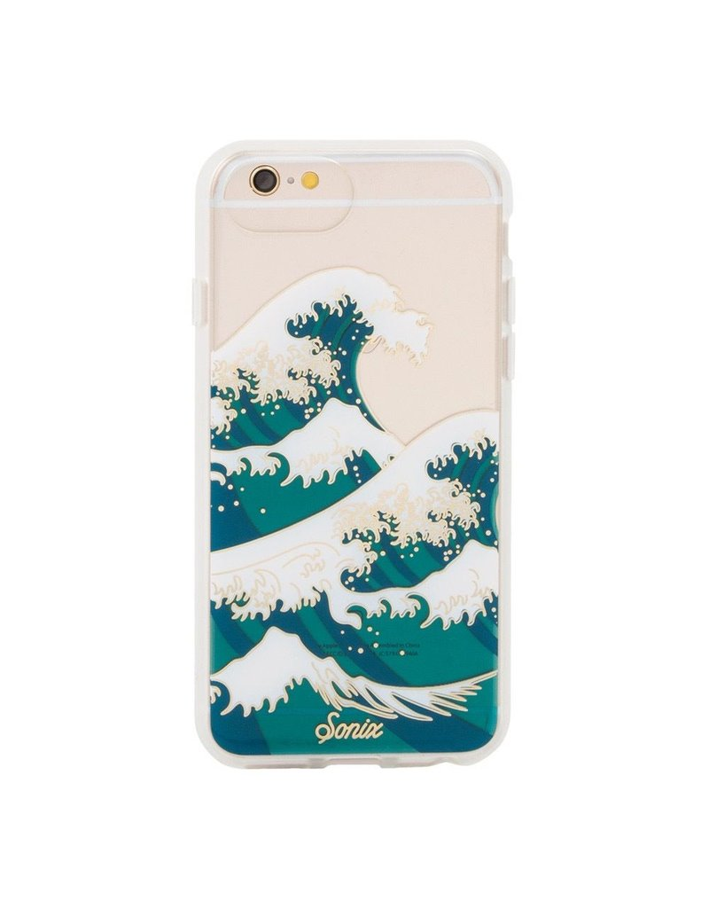 Sonix Sonix Clear Coat Case for iPhone 8/7/6 - Tokyo Wave