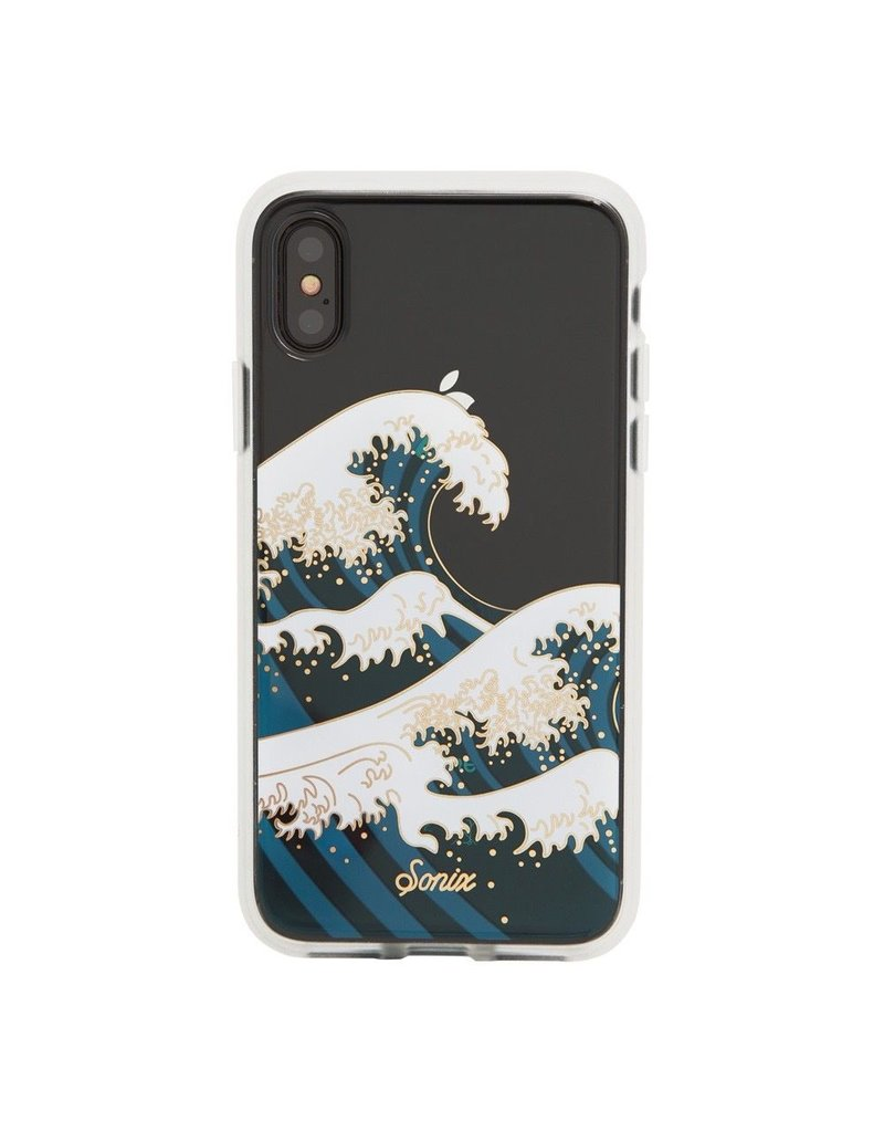 Sonix Sonix Clear Coat Case for iPhone X- Tokyo Wave