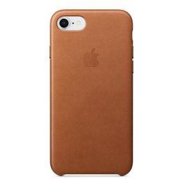 Apple Apple iPhone 8/7 Leather Case - Saddle Brown