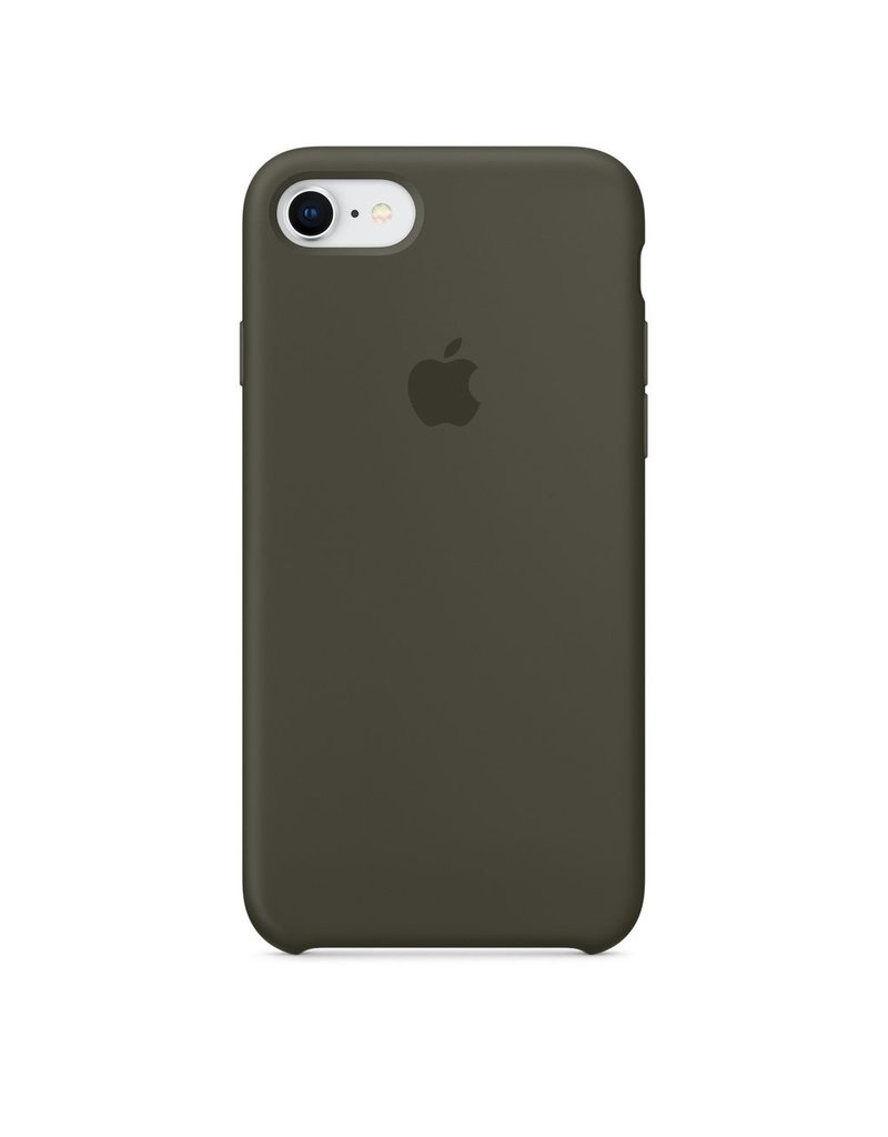 Apple Apple iPhone 8/7 Silicone Case - Dark Olive