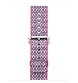 Apple Apple Watch 42mm Berry Check Woven Nylon