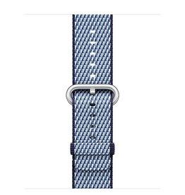 Apple Apple Watch 42mm Midnight Blue Check Woven Nylon