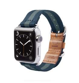TOMS TOMS Apple Watch 42mm Utility Band - Navy Stripe