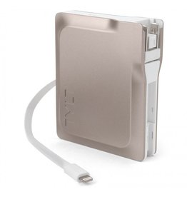 Tylt Tylt 6700mAh Smart Charger with Lightning Cable - Gold