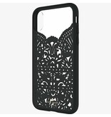 kate spade new york kate spade Hardshell Case for iPhone X - Lace Hummingbird Black
