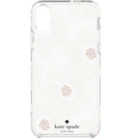 kate spade new york kate spade Hardshell Case for iPhone X - Hollyhock Floral Cream