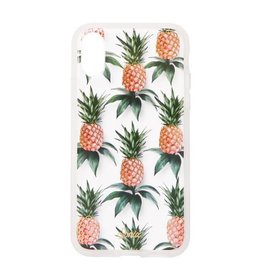 Sonix Sonix Clear Coat Case for iPhone X - Pink Pineapple