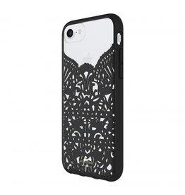 kate spade new york kate spade Hardshell Case for iPhone 8/7/6 - Lace Hummingbird Black