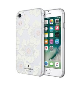 kate spade new york kate spade Hardshell Case for iPhone 8/7/6 - Hollyhock Floral Cream