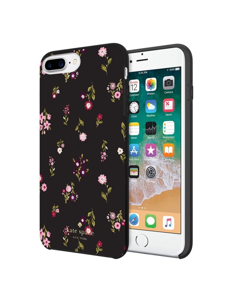 kate spade new york kate spade Hardshell Case for iPhone 8/7/6 Plus - Spriggy Floral / Gems