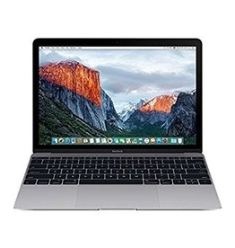 Apple Macbook 12-Inch 1.1GHz Dual-Core Intel Core m3 8GB 256GB - Space Gray